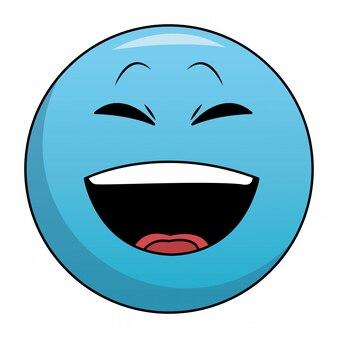 Lachen chat emoticon