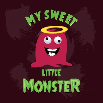 Lachen lustige monster