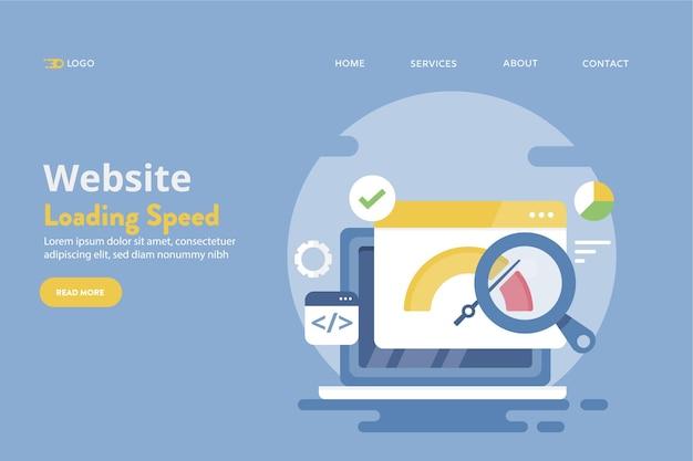 Ladegeschwindigkeit der website