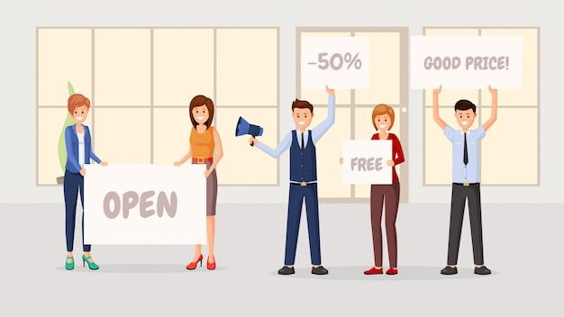 Ladeneröffnung wohnung s