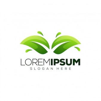 Lässt logo-vorlage