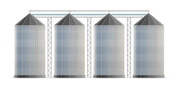 Lagerhaus für landwirtschaftliche silos