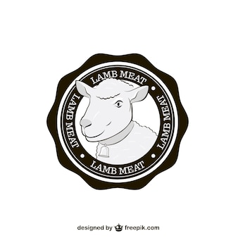 Lammfleisch siegel