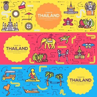Land thailand reise urlaub führer von waren, orten und funktionen