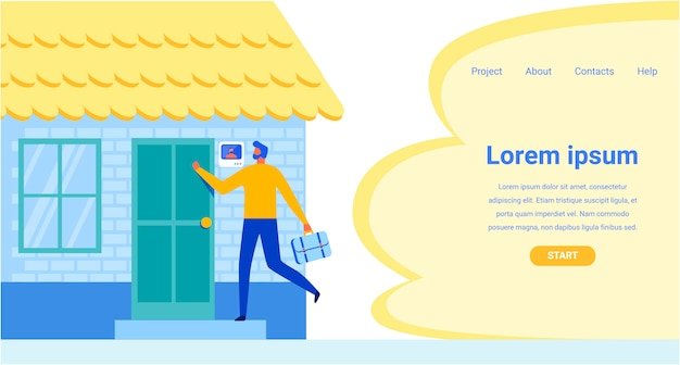 Landing page offering gesichtserkennungssystem