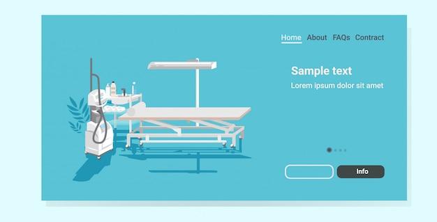 Landingpage für medizinische haarentfernung