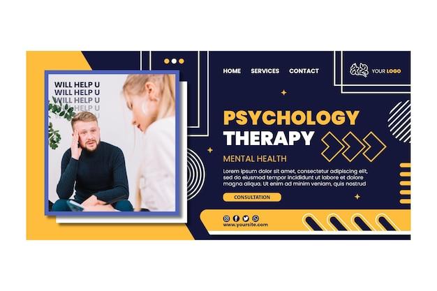 Landingpage für psychologietherapie
