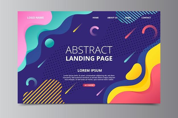 Landingpage-vorlage
