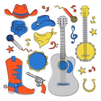 Landmusikband western festival