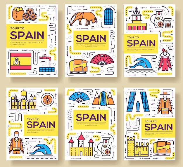 Landreisevorlage des flyers