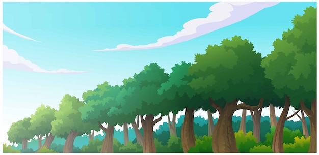 Landschaftswaldtageszeit so schön.