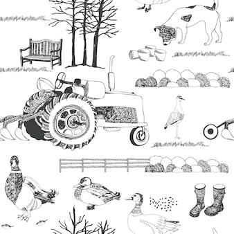 Landwirtschaft hintergrund