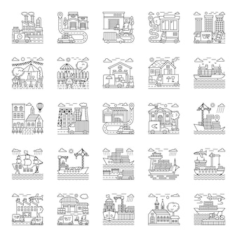 Landwirtschaft illustrations pack