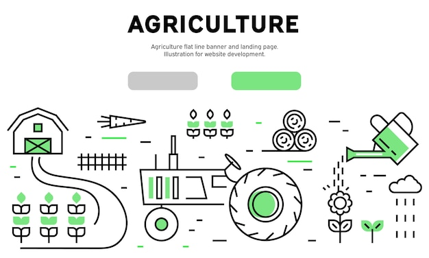 Landwirtschaft infographik