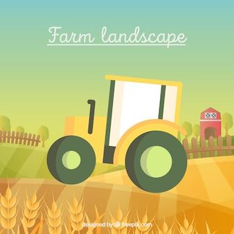 Landwirtschaftliche zugmaschine