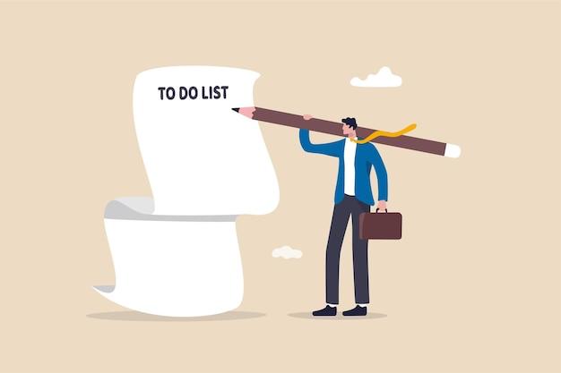 Lange aufgabenliste, überlastungsaufgaben und verantwortungskonzept.
