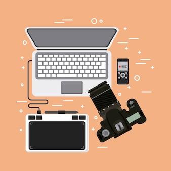 Laptop fotografisch