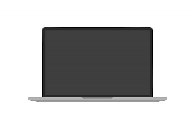 Laptop-gerät isoliert