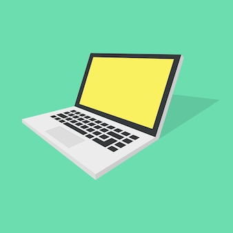 Laptop-illustration-icon-design