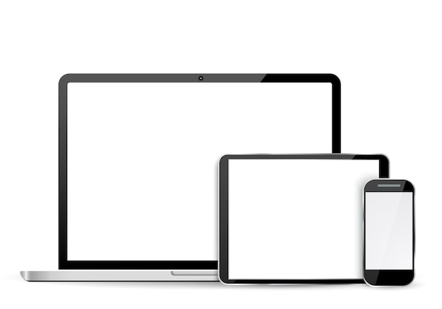 Laptop, tablet und handy einstellen