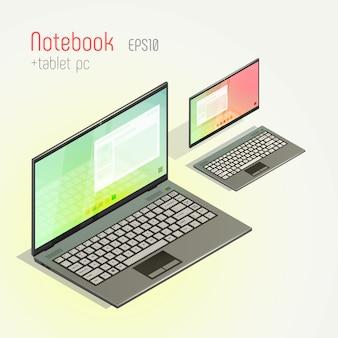 Laptop und tablet pc