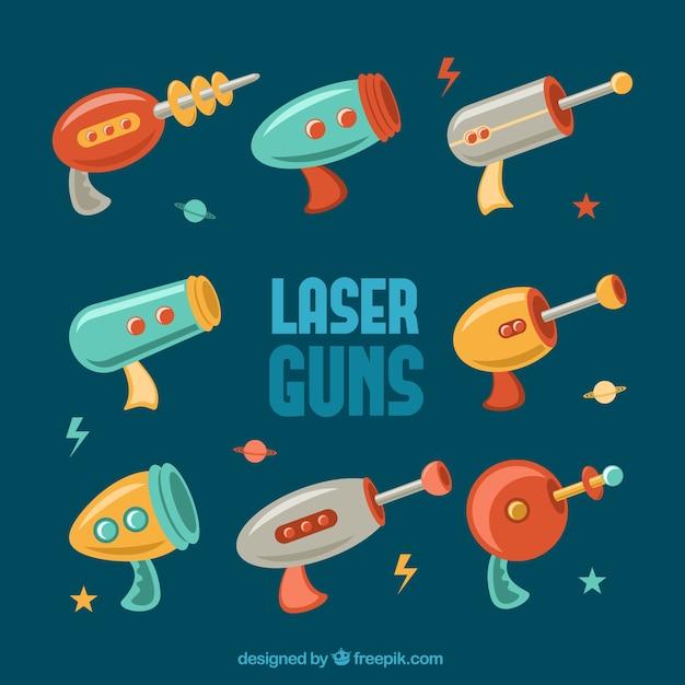 Laserpistolen