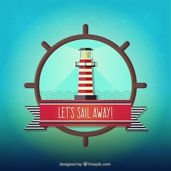 Lassen sie uns weg segeln