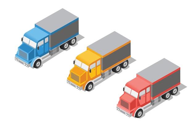 Lastwagen einstellen