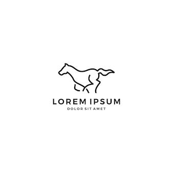 Laufendes pferd logo