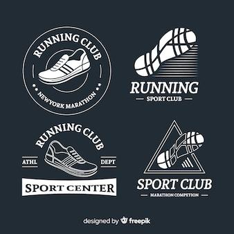 Laufschuh-logos
