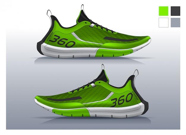 Laufschuhe, sneakers-design