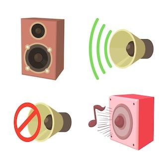 Lautsprecher-icon-set
