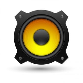 Lautsprechersymbol.