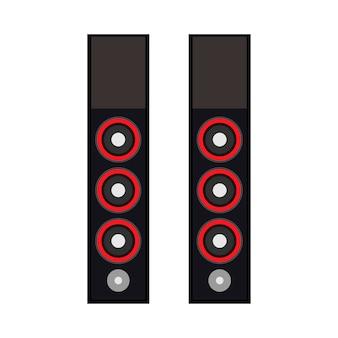 Lautsprechertechnologie-ausrüstungsdesign-medienvolumen elektronisch.