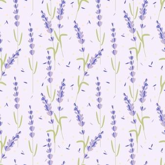 Lavendel nahtlose muster.