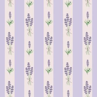Lavendel seamles tapete