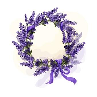 Lavendeldekoration