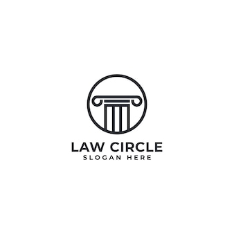 Law circle logo