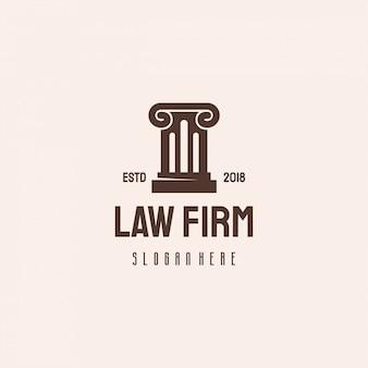 Law firm scale logo hipster retro vintage vorlage