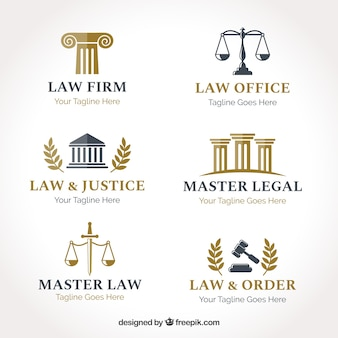 Law-logo-set