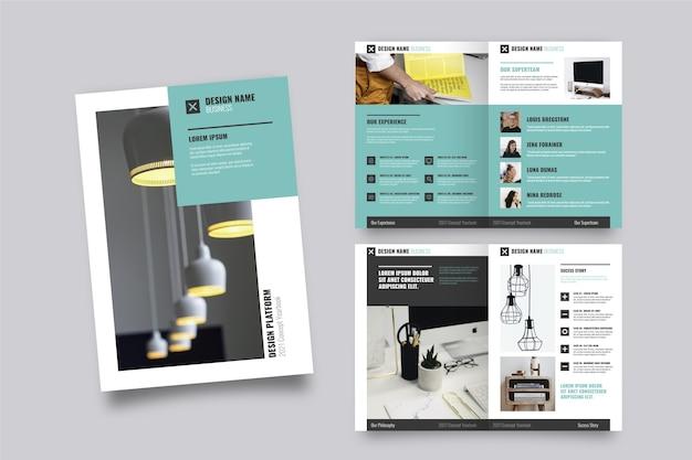 Layout der broschürenvorlage