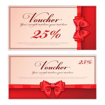 Layout der geschenkgutscheinvorlage