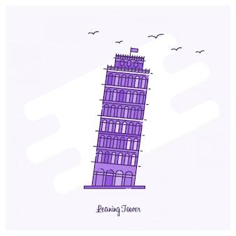 Leaning tower wahrzeichen