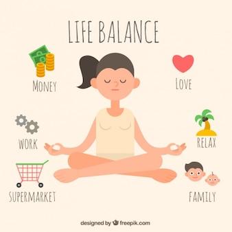 Lebensbalance