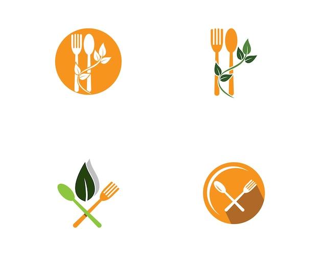Lebensmittel logo vorlage