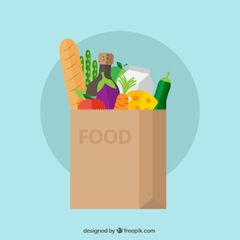 Lebensmittel tasche
