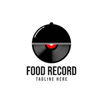 Lebensmittelaufzeichnung, logo-design