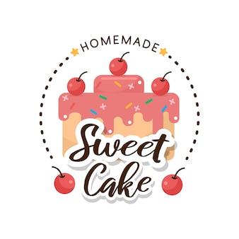 Lebensmitteletikett bäckerei illustration