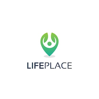 Lebensort-logo-design