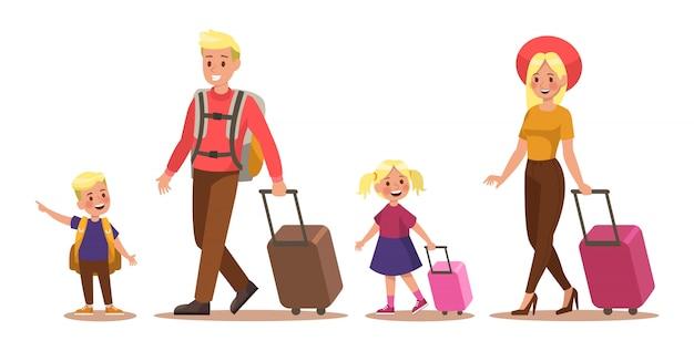 Lebensstil der familie